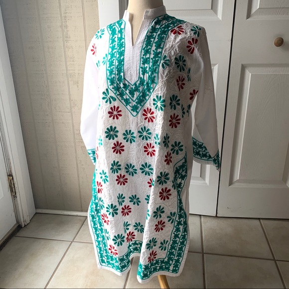 Made in India Dresses & Skirts - Tunic Dress Approx Size M/L Like New
